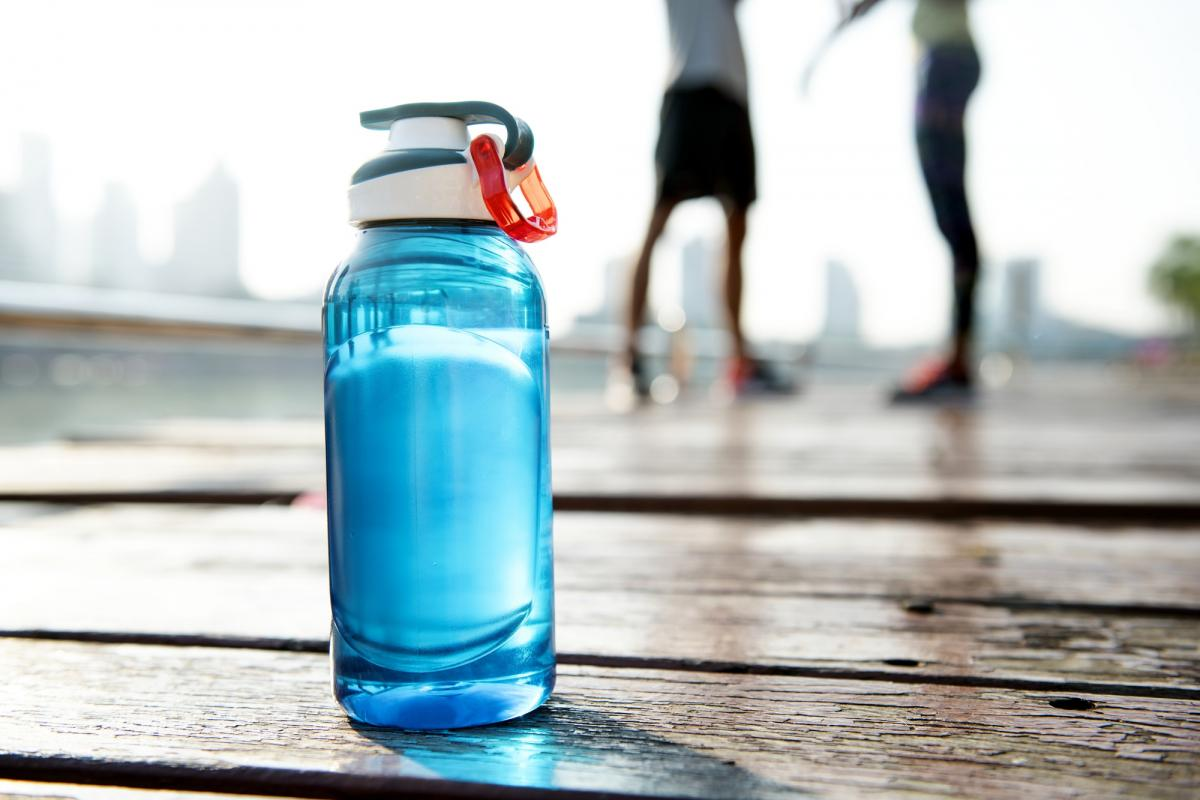 Fitness water bottle